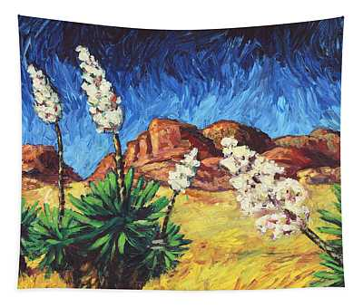 Vincent In Arizona Tapestry