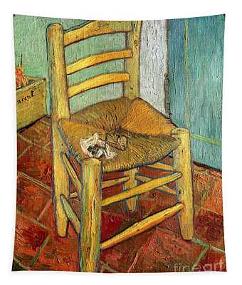 Vincent's Chair 1888 Tapestry