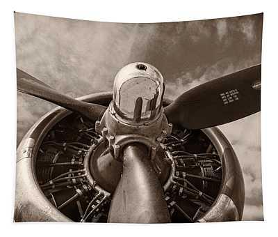 Vintage B-17 Tapestry