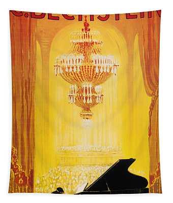 Vintage Concert Poster 1920 Tapestry
