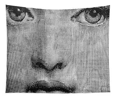 Vintage Face Tapestry