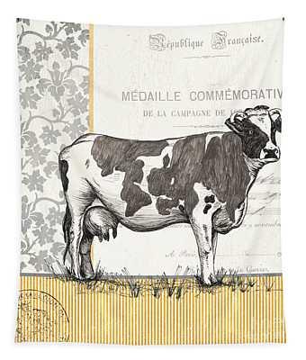 Vintage Farm 1 Tapestry