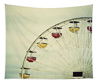 Tapestry featuring the photograph Vintage Ferris Wheel by Kim Hojnacki