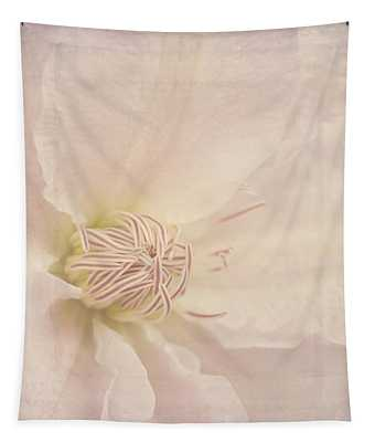 Vintage Flower Art - A Beautiful Place Tapestry