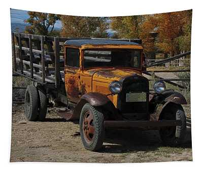 Vintage Ford Truck 2 Tapestry