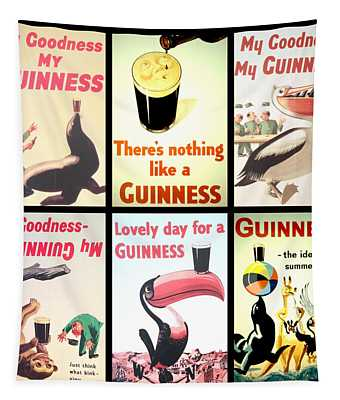 Vintage Guinness  Tapestry