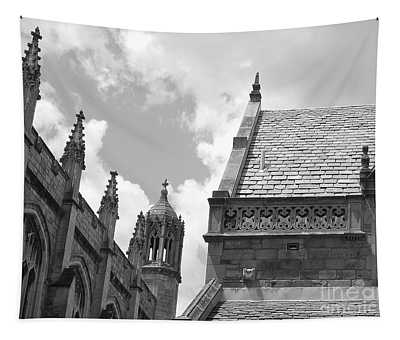 Vintage Ornate Architecture Tapestry