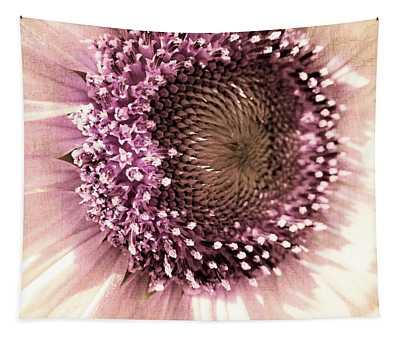 Vintage Sunflower  Tapestry