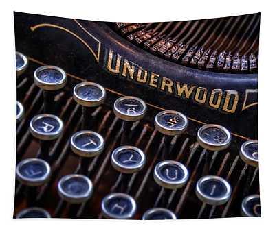 Vintage Typewriter 2 Tapestry