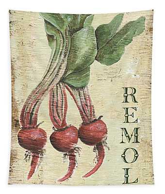 Vintage Vegetables 3 Tapestry