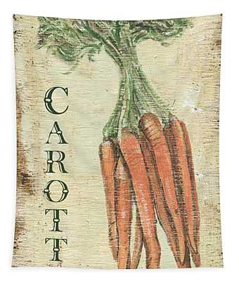 Vintage Vegetables 4 Tapestry