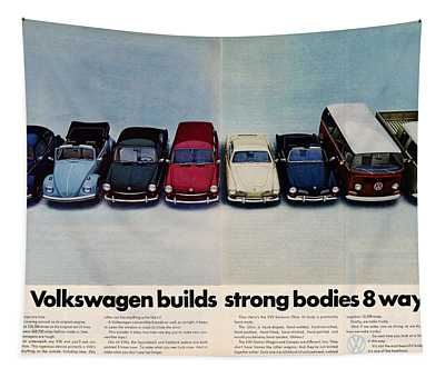 Volkswagen Builds Strong Bodies Eight Ways Tapestry