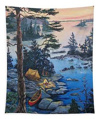 Wabigoon Lake Memories Tapestry