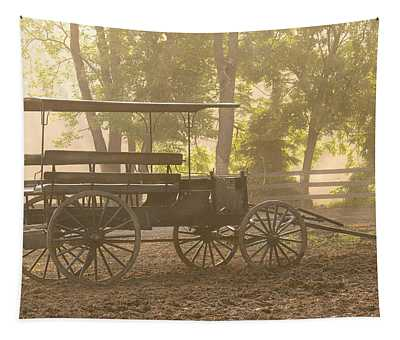 Wagon - Abe's Buggie Tapestry