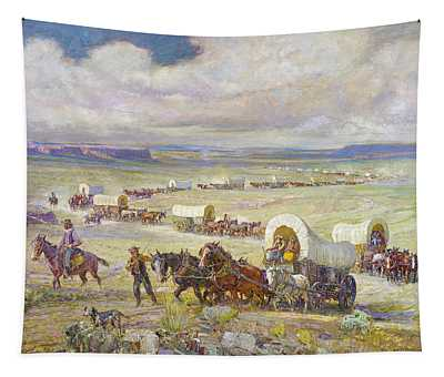Wagon Trail Tapestry