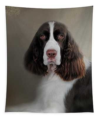 Waiting Patiently - English Springer Spaniel Tapestry