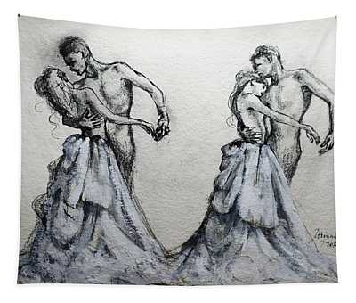 Waltzing With You Tapestry