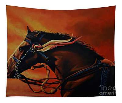 War Horse Joey  Tapestry