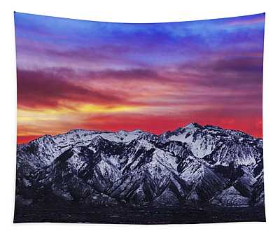 Wasatch Sunrise 2x1 Tapestry