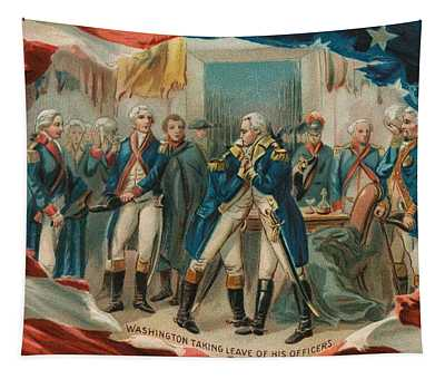 Washington Taking Leave Of His Officers Tapestry