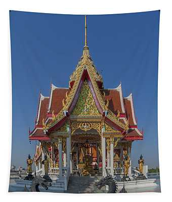 Wat Bukkhalo Central Roof-top Pavilion Dthb1809 Tapestry