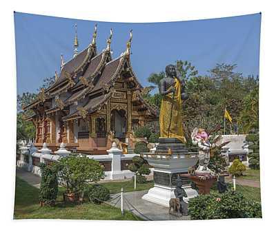 Wat Chedi Liem Phra Ubosot Dthcm0831 Tapestry