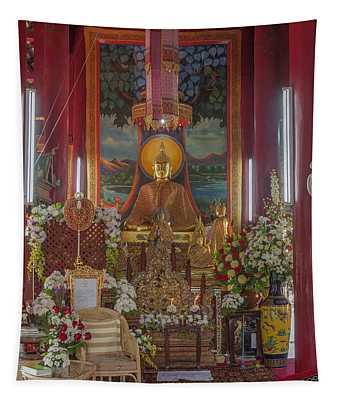 Wat Chedi Liem Phra Wihan Buddha Image Dthcm0827 Tapestry