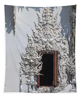 Wat Rong Khun Ubosot Window Dthcr0042 Tapestry