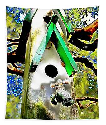 Water Birds Tapestry