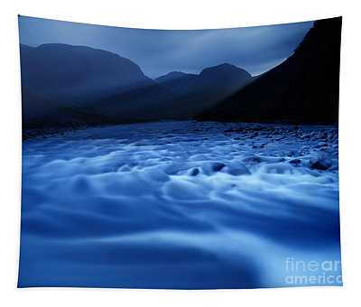 Water Blues Tapestry