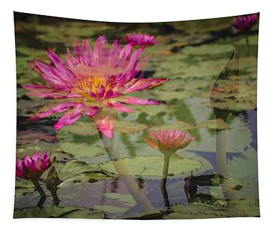 Water Garden Dream Tapestry