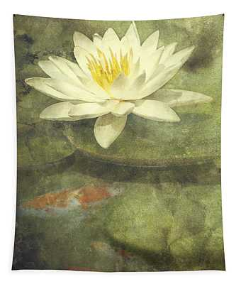 Water Lily Tapestry