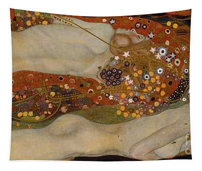 Water Serpents II Tapestry