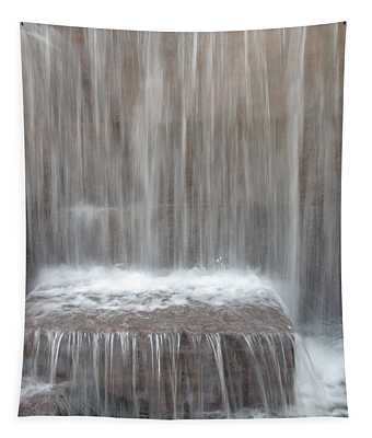 Waterfall At The Fdr Memorial In Washington Dc Tapestry