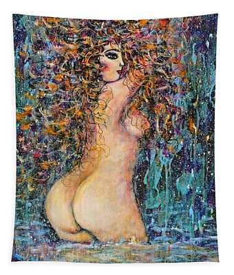 Waterfall Nude Tapestry