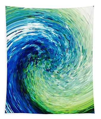 Wave To Van Gogh Tapestry