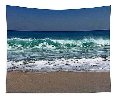 Waves Of Happiness  Tapestry