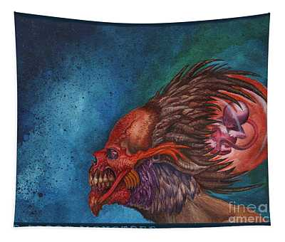We Breed Monsters Tapestry