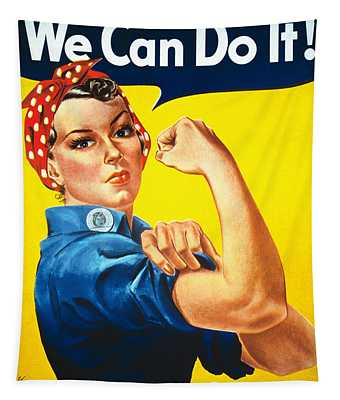 We Can Do It - Ww2 Tapestry