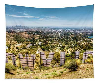 Welcome To Hollywood Tapestry