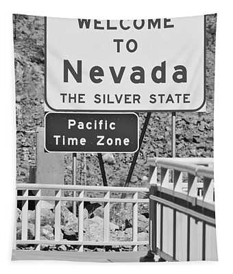 Welcome To Nevada Tapestry