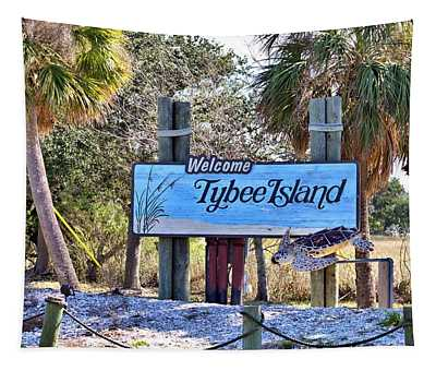 Welcome To Tybee Tapestry