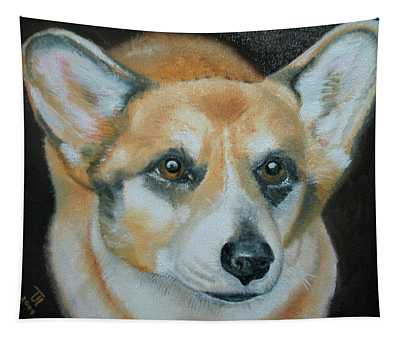 Welsh Corgi Tapestry