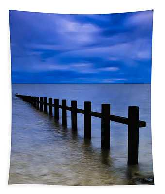 Welsh Seascape Tapestry