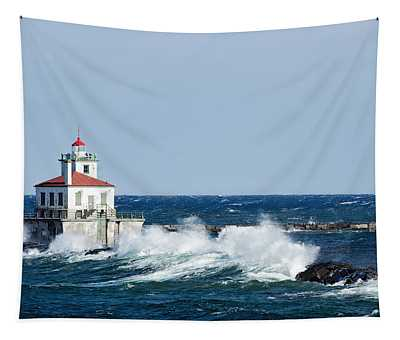 West Pierhead Lighthouse Tapestry