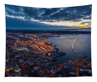 West Seattle Water Taxi Tapestry
