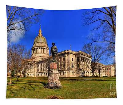 West Virginia State Capitol Building Tapestry