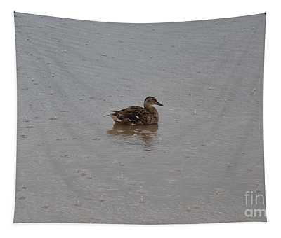 Wet Duck Tapestry