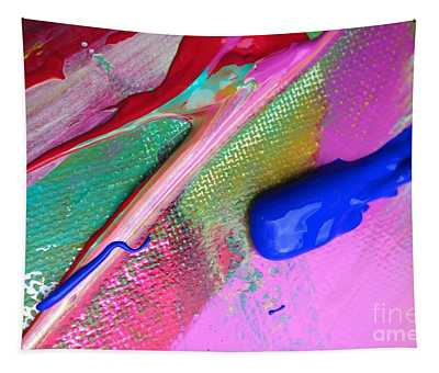 Wet Paint 31 Tapestry