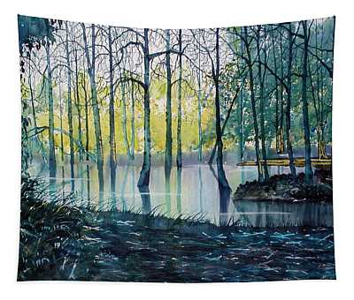 Wetlands On Skipwith Common Tapestry